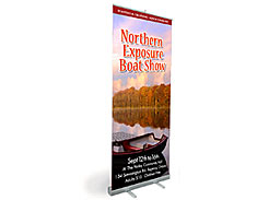 Roll-up Stand Combo Banner